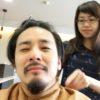冨田晃の散髪ヘアスタイル・【気持ち悪い2ブロック】