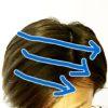 髪の分け目が消えない人にオススメなヘアスタイル
