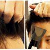 前髪の簡単立ち上げ方法!