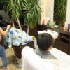 幼児の散髪は服装が重要です!!