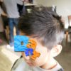 安佐南区の理容室ダント4ヘア・お客様【伸ばしかけでもかっこいいキッズヘア】